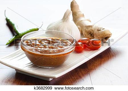 Stock Photograph of Indian Curry Sauce k3682999.
