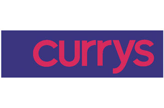 Currys tests new logo and store design.