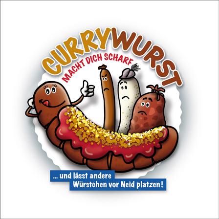 Currywurst.