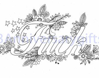 Free Printable Swear Word Clipart.