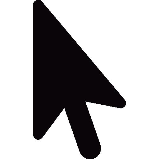 Flèche noire du curseur.