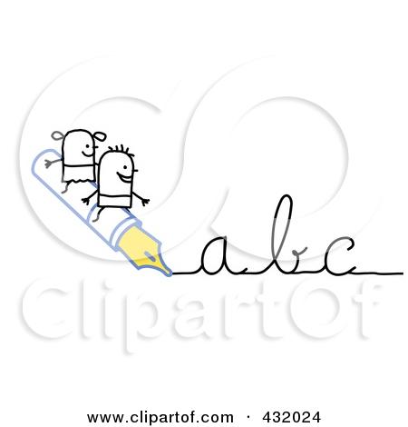 Cursive Clipart#2082976.