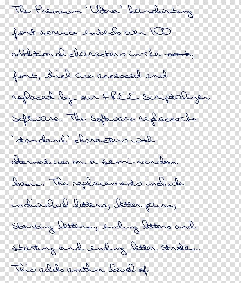 Handwriting Cursive Document Calligraphy Font, hand writing.