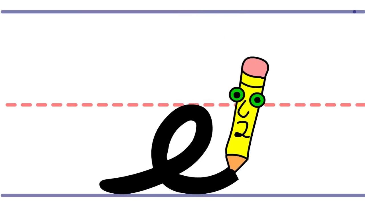Pencil Pete's Cursive Writing.