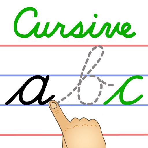 Cursive Writing Clipart.
