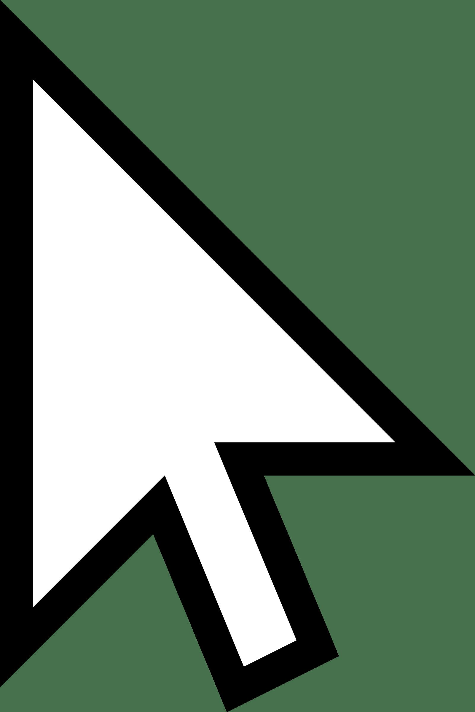 Mouse Arrow transparent PNG.