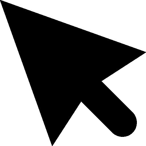 Free Cursor Arrow PNG Transparent Image.