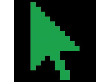 Green Cursor Arrow.