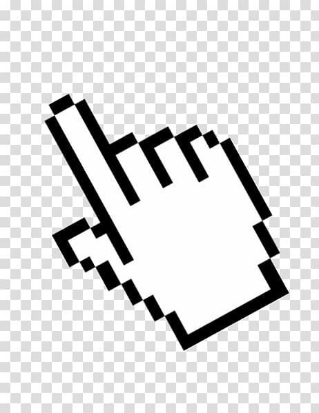 Computer mouse Pointer Point and click Cursor, Computer.