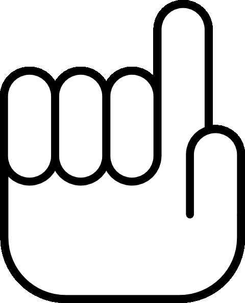 Pointing Cursor Clip Art at Clker.com.