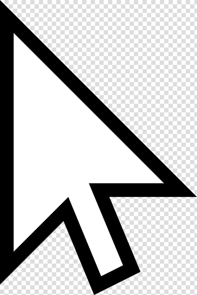 White cursor , Computer mouse Pointer , Mouse Cursor.