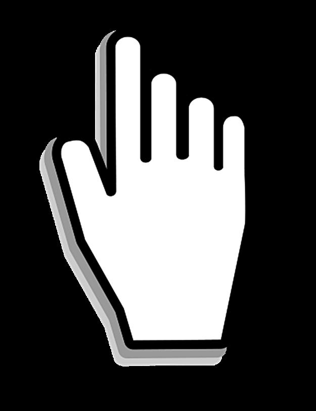 Finger Cursor PNG Download Image.