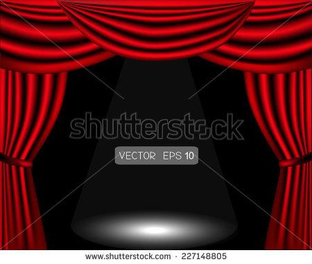 Curtain Call Stock Vectors & Vector Clip Art.