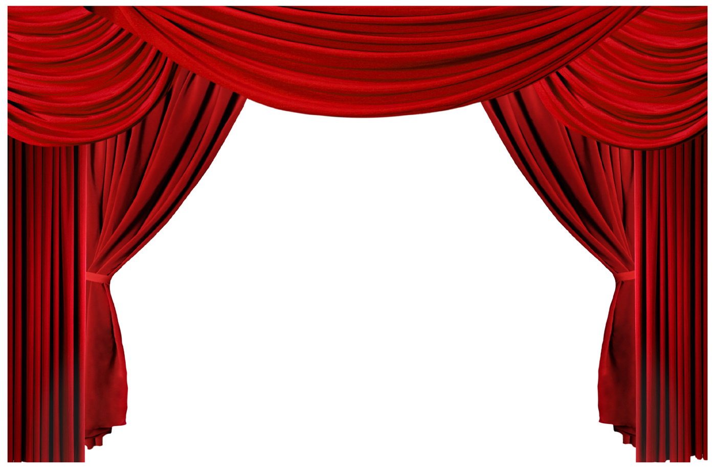 Theater Curtain Clipart.