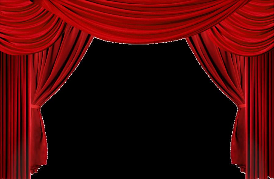 Theatre Curtains clipart.