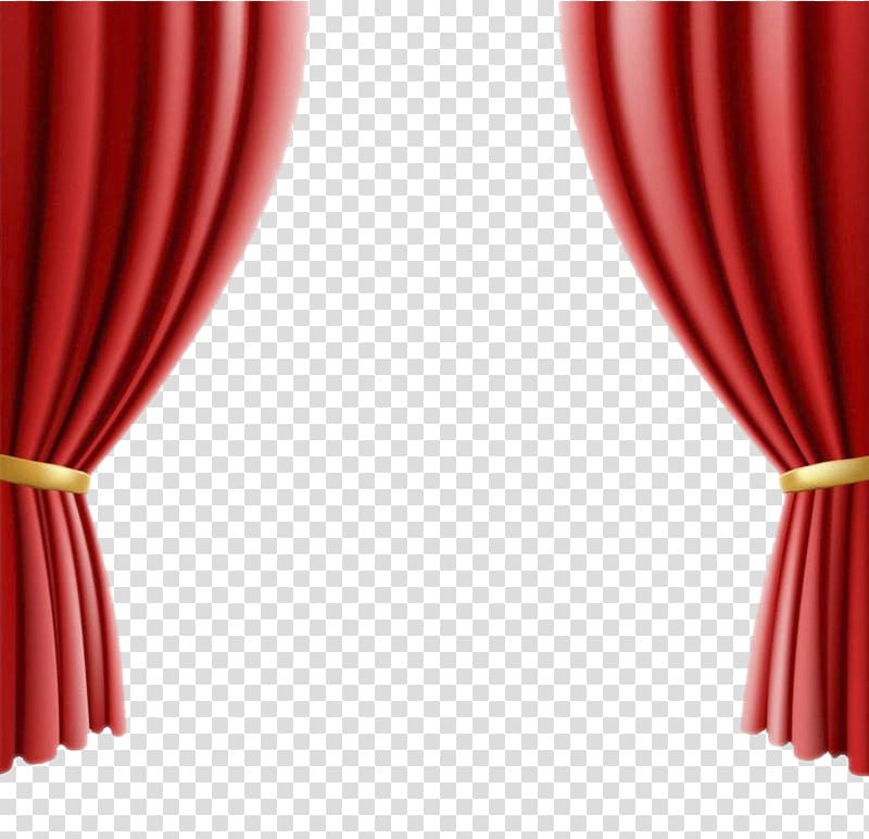 Red curtain art, Theater drapes and stage curtains Cinema.