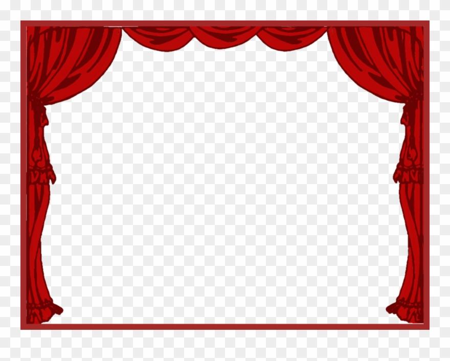 Curtain Clipart Left.