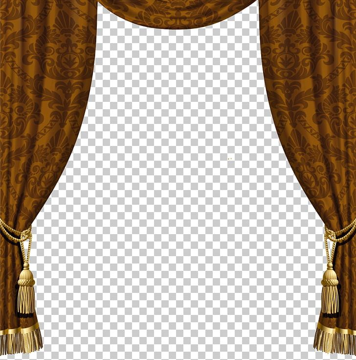 Window Treatment Curtain Rod Shower PNG, Clipart, Brown, Clipart.