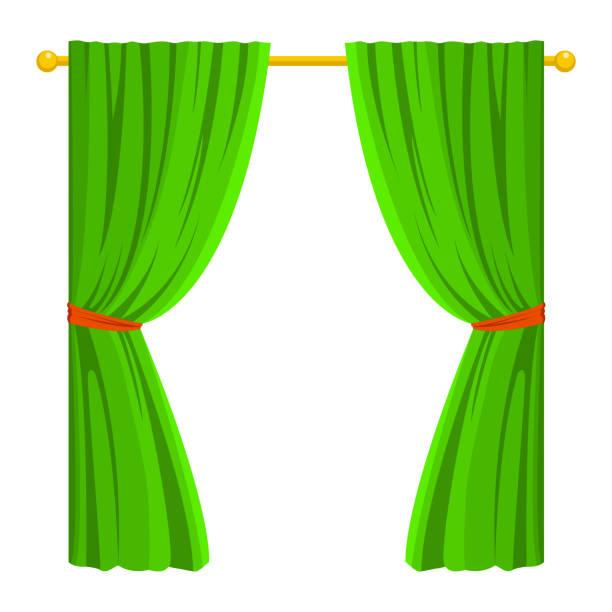 Best Curtain Rod Illustrations, Royalty.