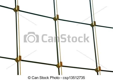 Drawings of glass curtain wall in a modern shop, beijing, china.