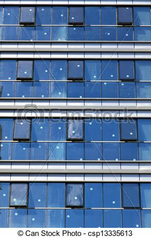 Stock Photography of Curtain Wall Pattern.