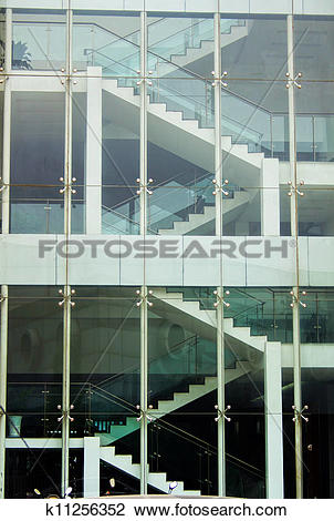 Stock Photo of Glass curtain wall k11256352.