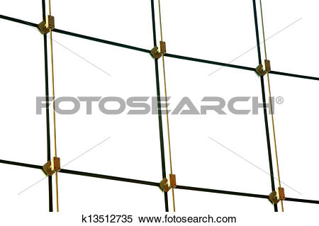 Stock Illustration of glass curtain wall in a modern shop.