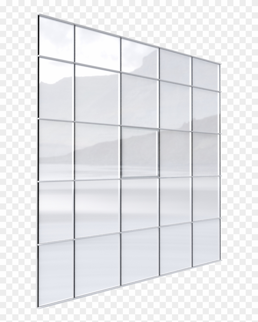 Univers® 54 Curtain Wall Façade Italian Window.