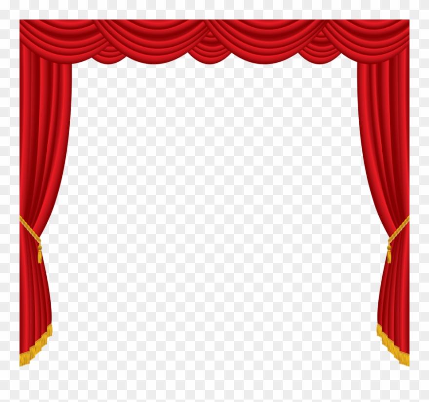 Clip Art Clipart Curtain Clip Art.