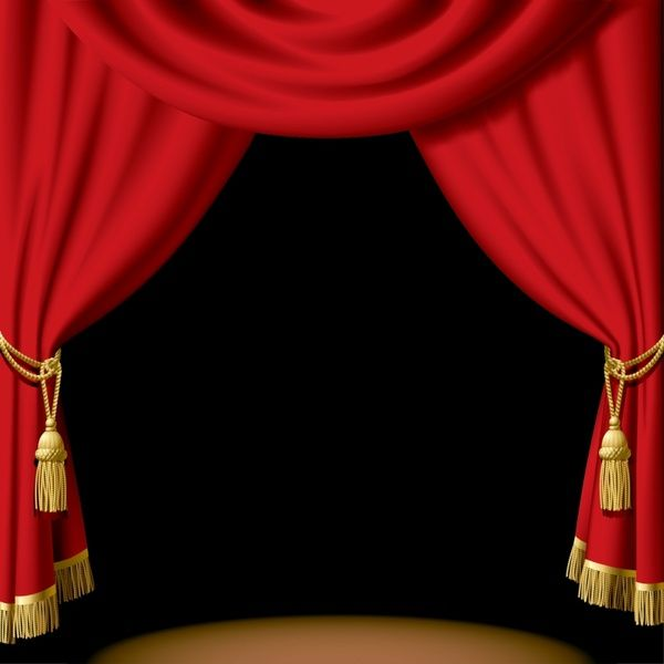 Curtains Ideas red theater curtains : Stage Curtain Clipart Red.