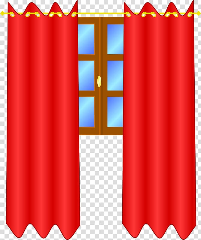 Window treatment Curtain , Stage Curtains transparent background PNG.
