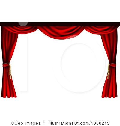 Curtains clipart free.