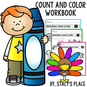 Fall Count and Color Workbook.