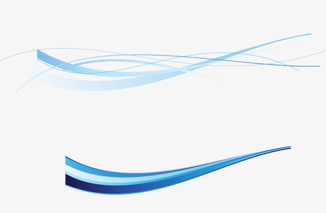 Download Free png Decorative Blue Line, Curve, Line, Decorative.