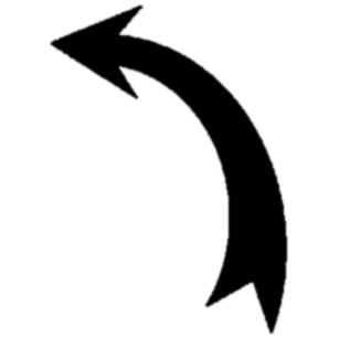 curved arrow clipart black and white 20 free Cliparts ...