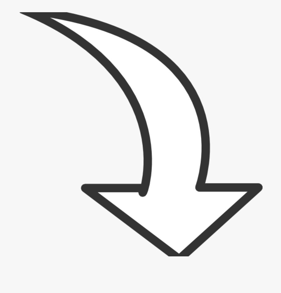 Curved Arrow Clipart Transparent, Cliparts & Cartoons.