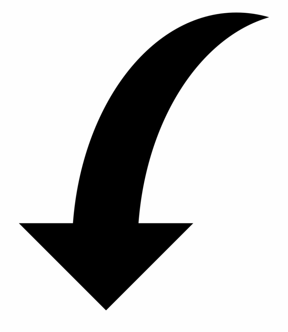 Curved Arrow Transparent Png.