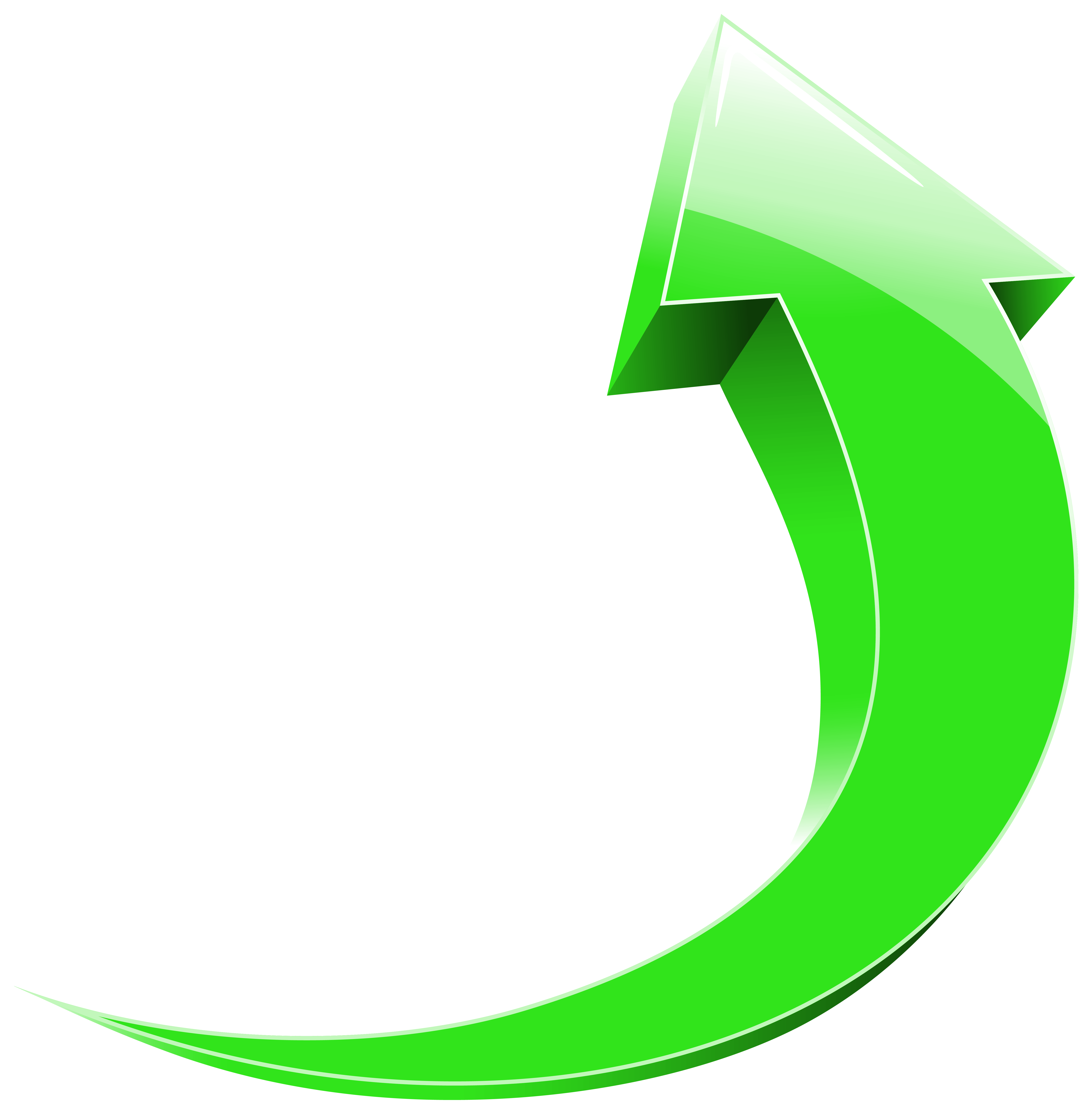 Curved Arrows Clipart.