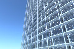 Curved Glass Building Exterior Stock Illustrations.