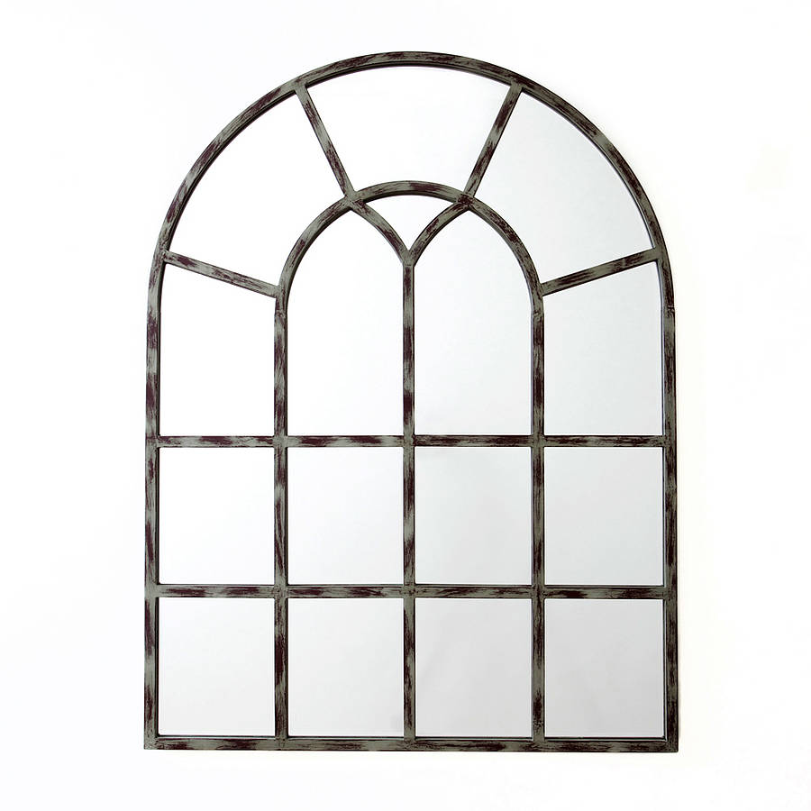 sale: was £229 now £183 wonderful window mirror by decorative.