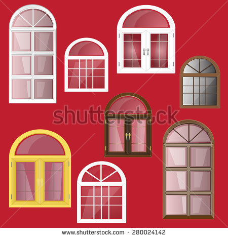 Arched Window Inside Stock Photos, Royalty.