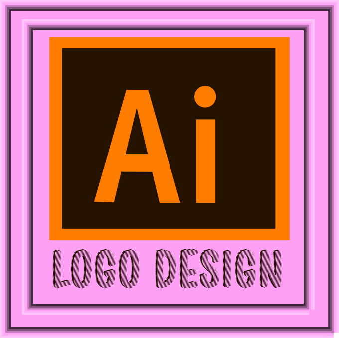 design a logo in beautiful shapes and curves as per your requirements.