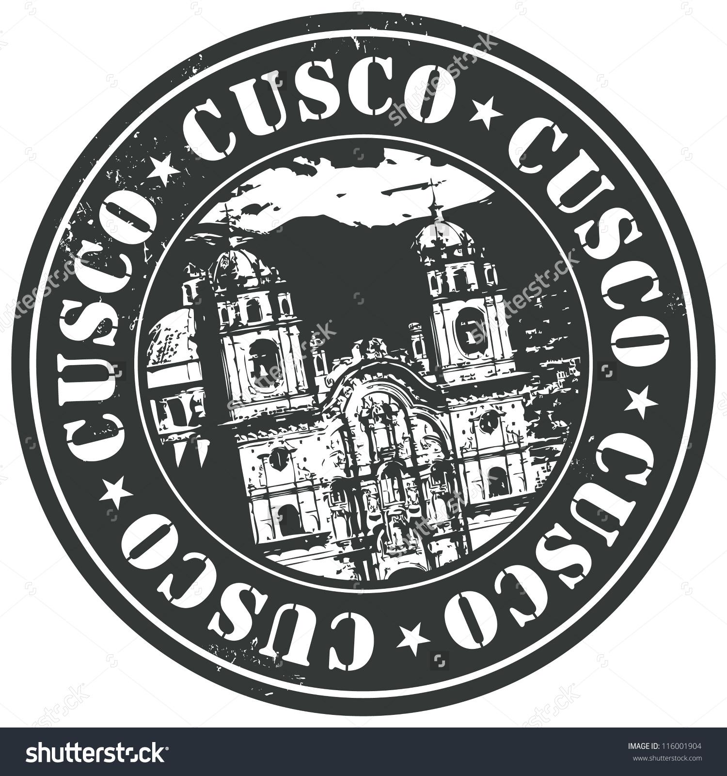 Cusco Stamp Stock Vector 116001904.