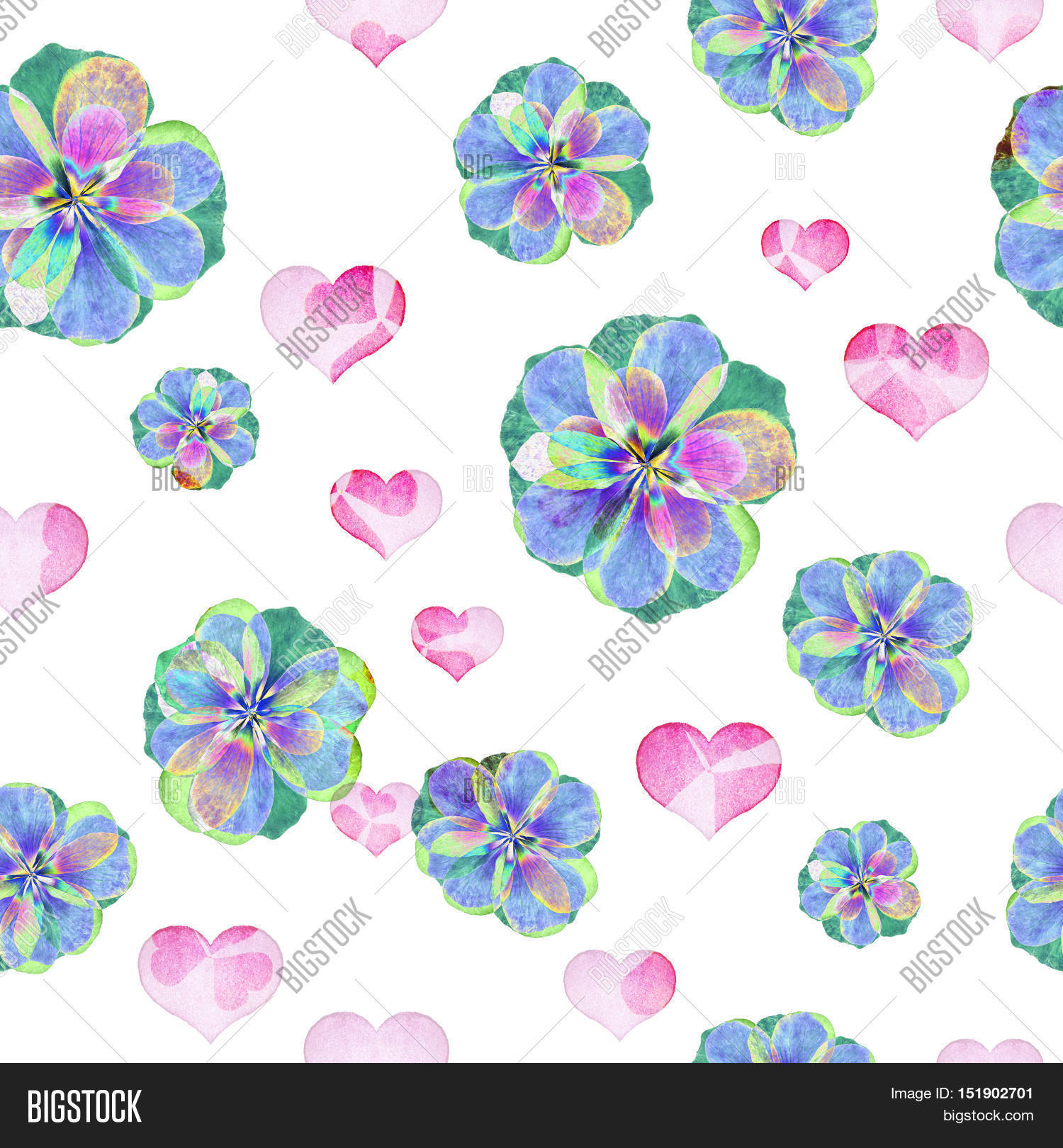 Floral art grunge batik background. Stylization pastel colors.