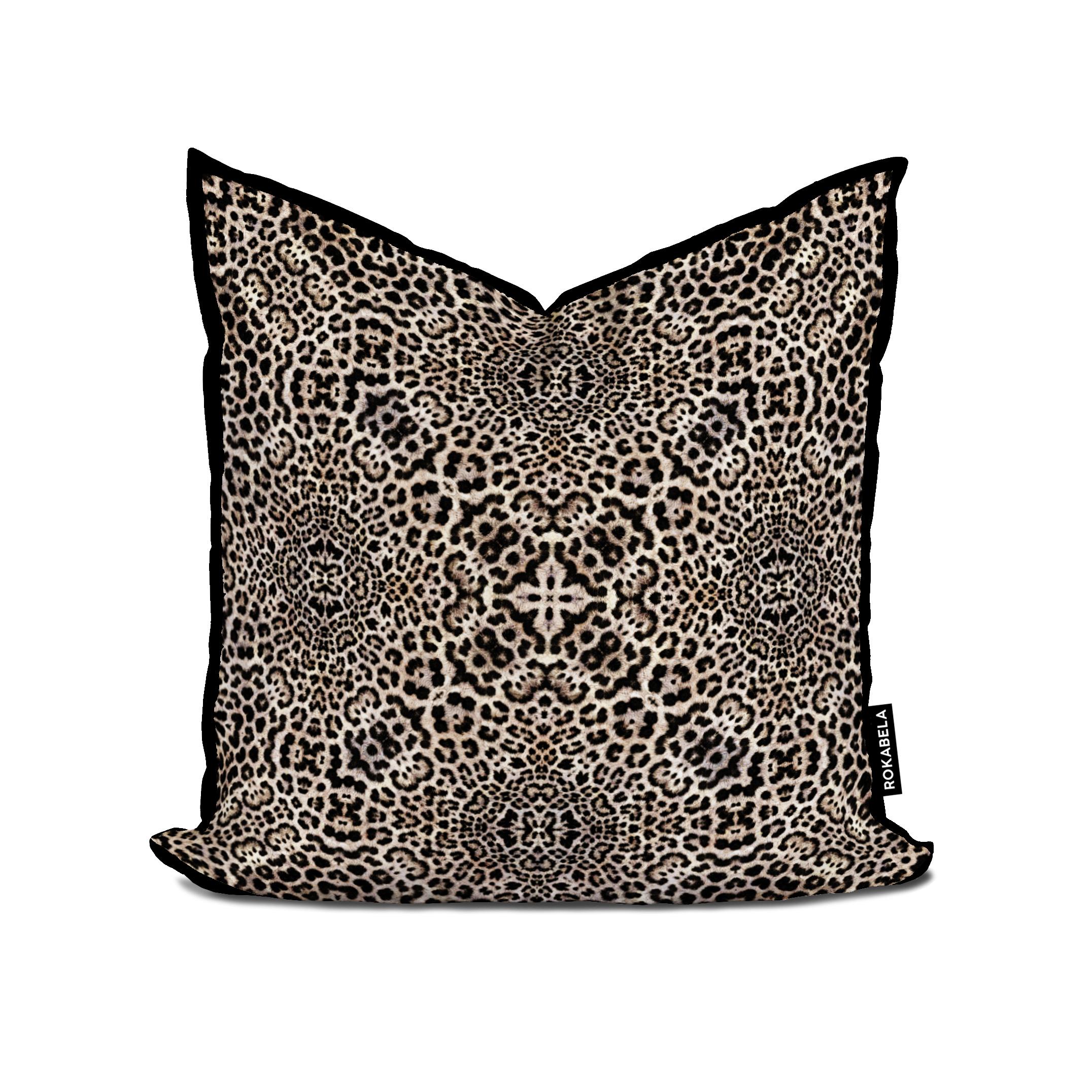 Rokabela Persian Leopard Cub Cushion — ROKABELA.