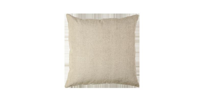 Peach Linen Beige Cushion Covers 18x18.