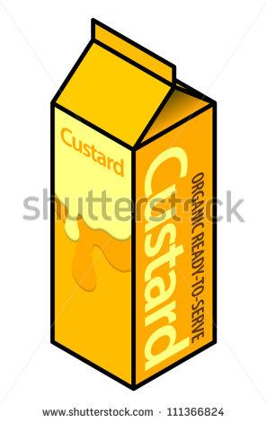 Custard clipart.