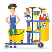 Free Custodian Clipart and Vector Graphics.