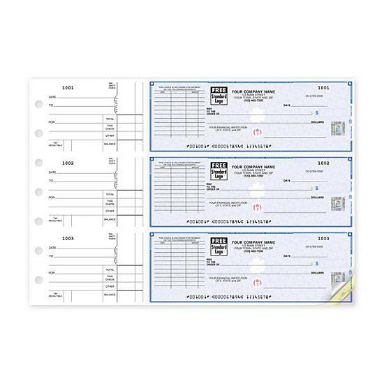 Order custom checks online in 2019.