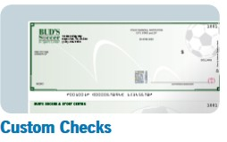 High Security Custom Business Checks with Thermochromic ink.